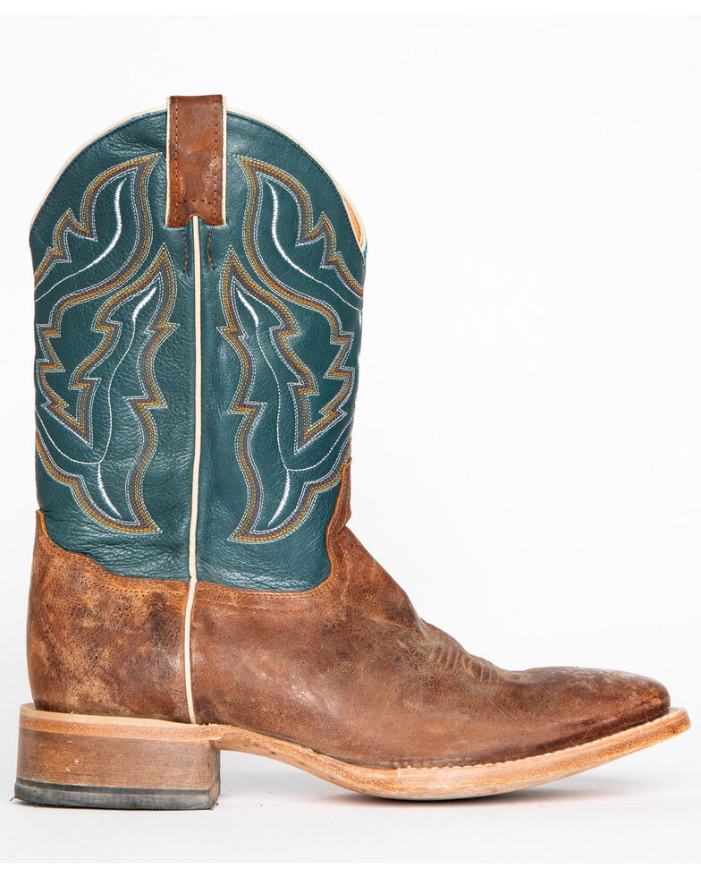 Cody James® Men's Square Toe Western Boots, Navy, hi-res