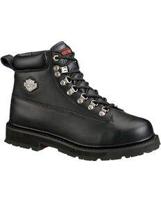 Harley-Davidson Men's Drive Steel Toe Safety Boots, Black, hi-res