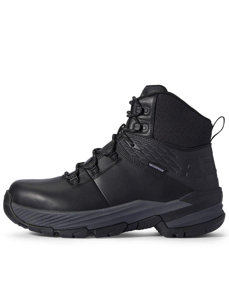 Ariat Men's Black 360 Stryker Work Boots - Soft Toe, Black, hi-res