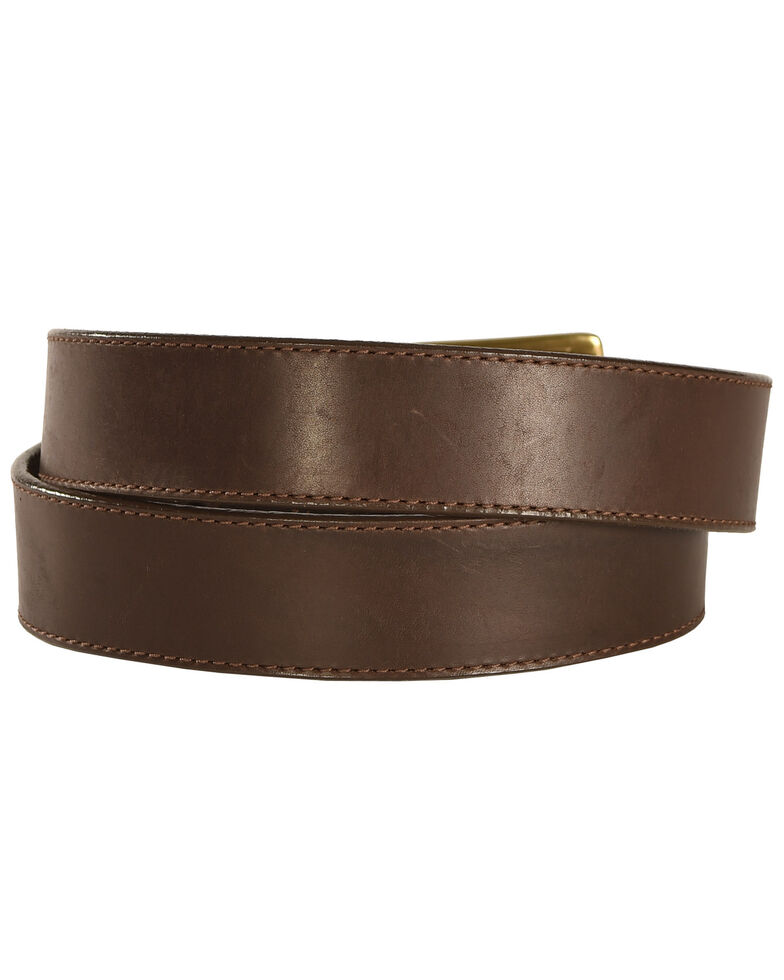 Chippewa Men's Brown Sycamore Leather Belt , Brown, hi-res