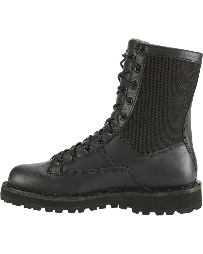 Rocky Men's Portland Lace-to-Toe Duty Boots, Black, hi-res