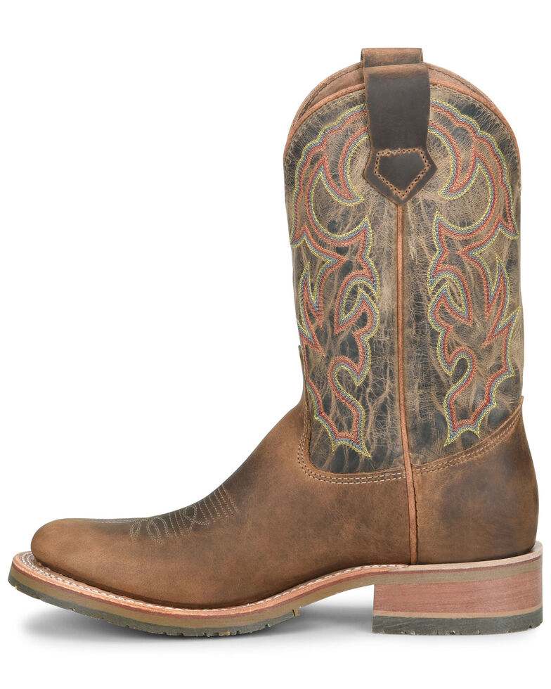 Double H Men's Jaison Western Boots - Round Toe, Tan, hi-res