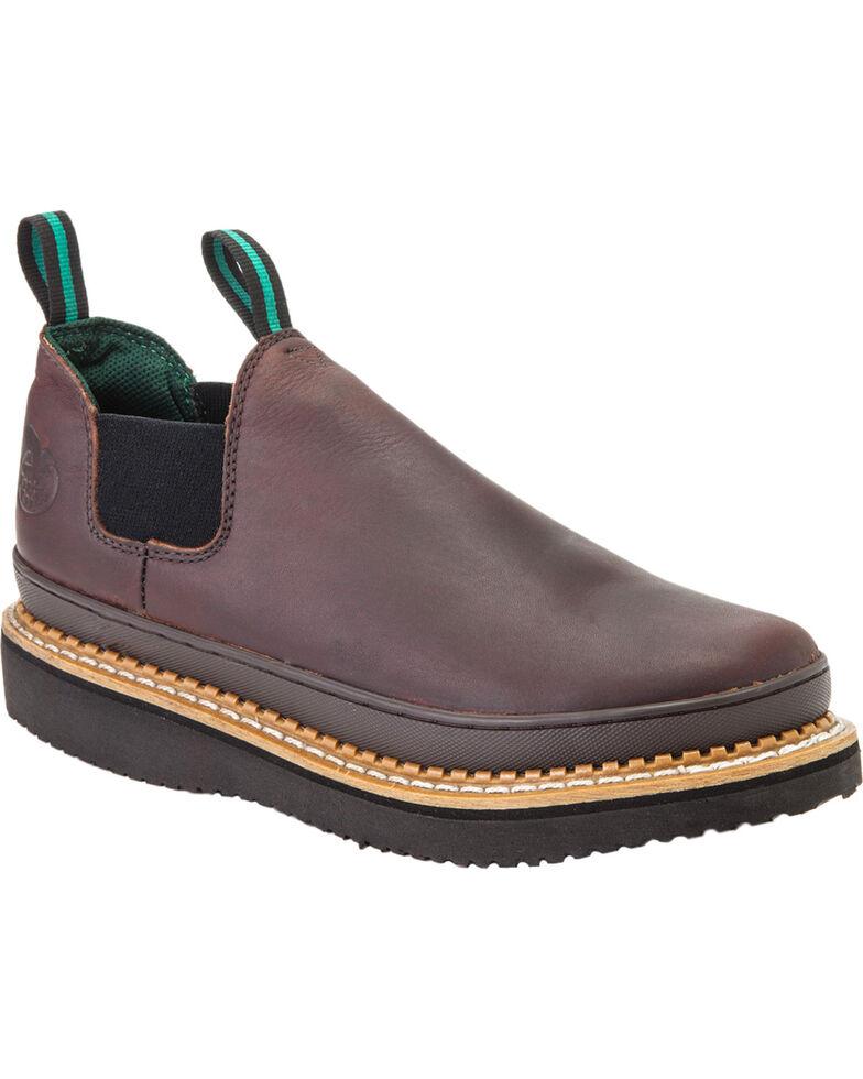 Georgia Men's Giant Romeo Work Shoes, Brown, hi-res