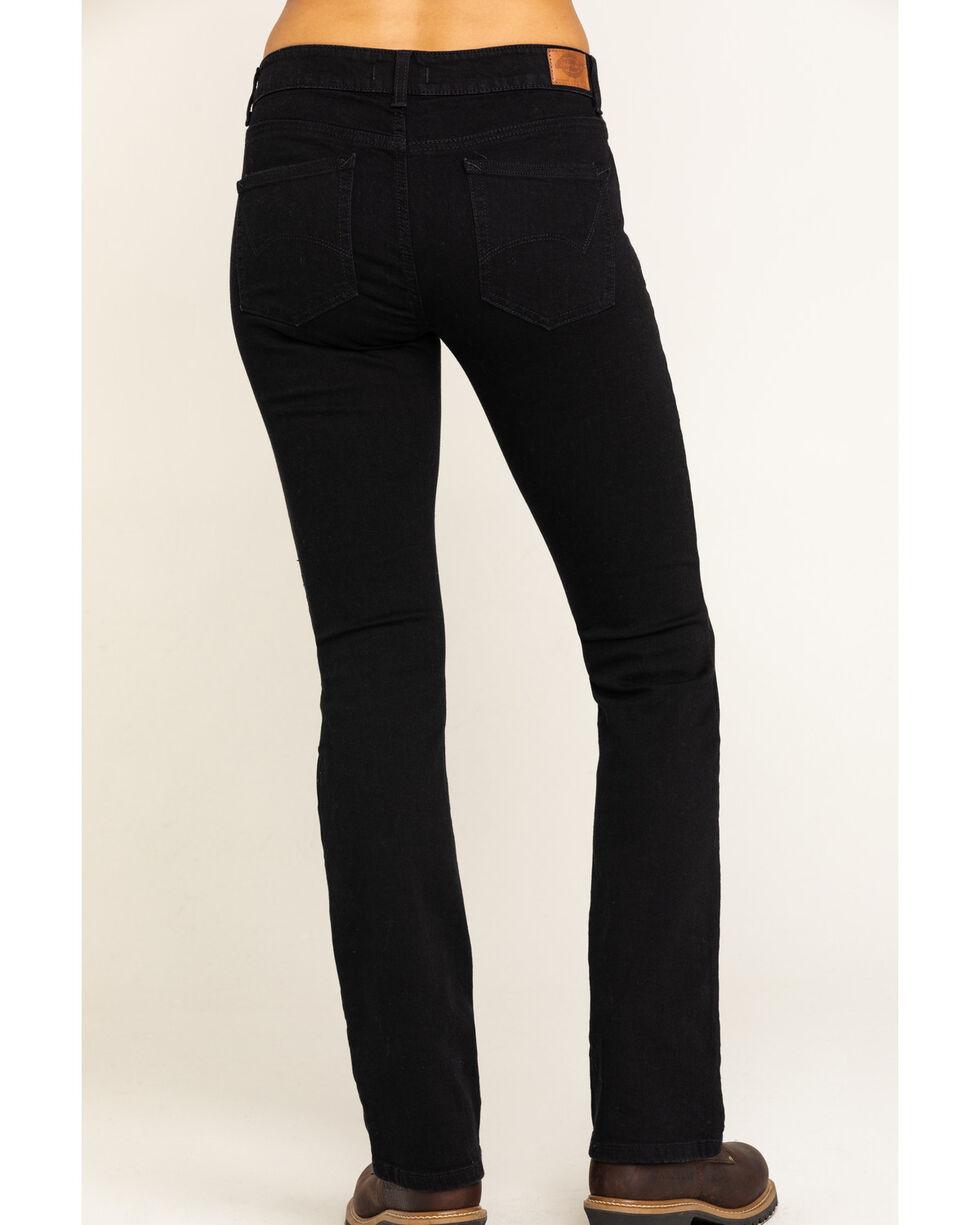 Women's Dickies Perfect Shape Bootcut Stretch Denim Jeans, Black, hi-res