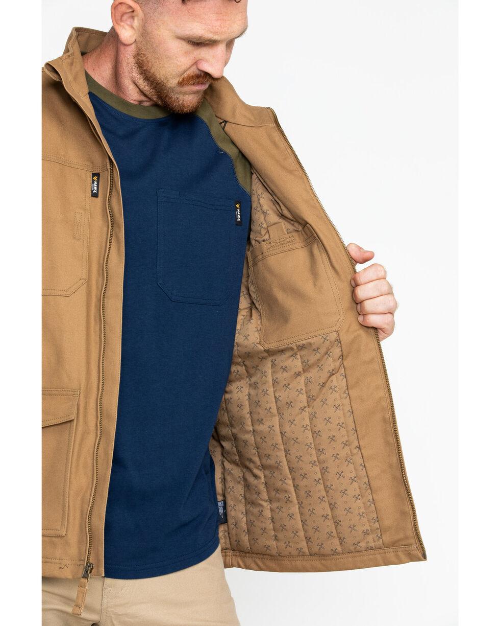 Hawx® Men's Canvas Work Jacket - Big & Tall , Brown, hi-res