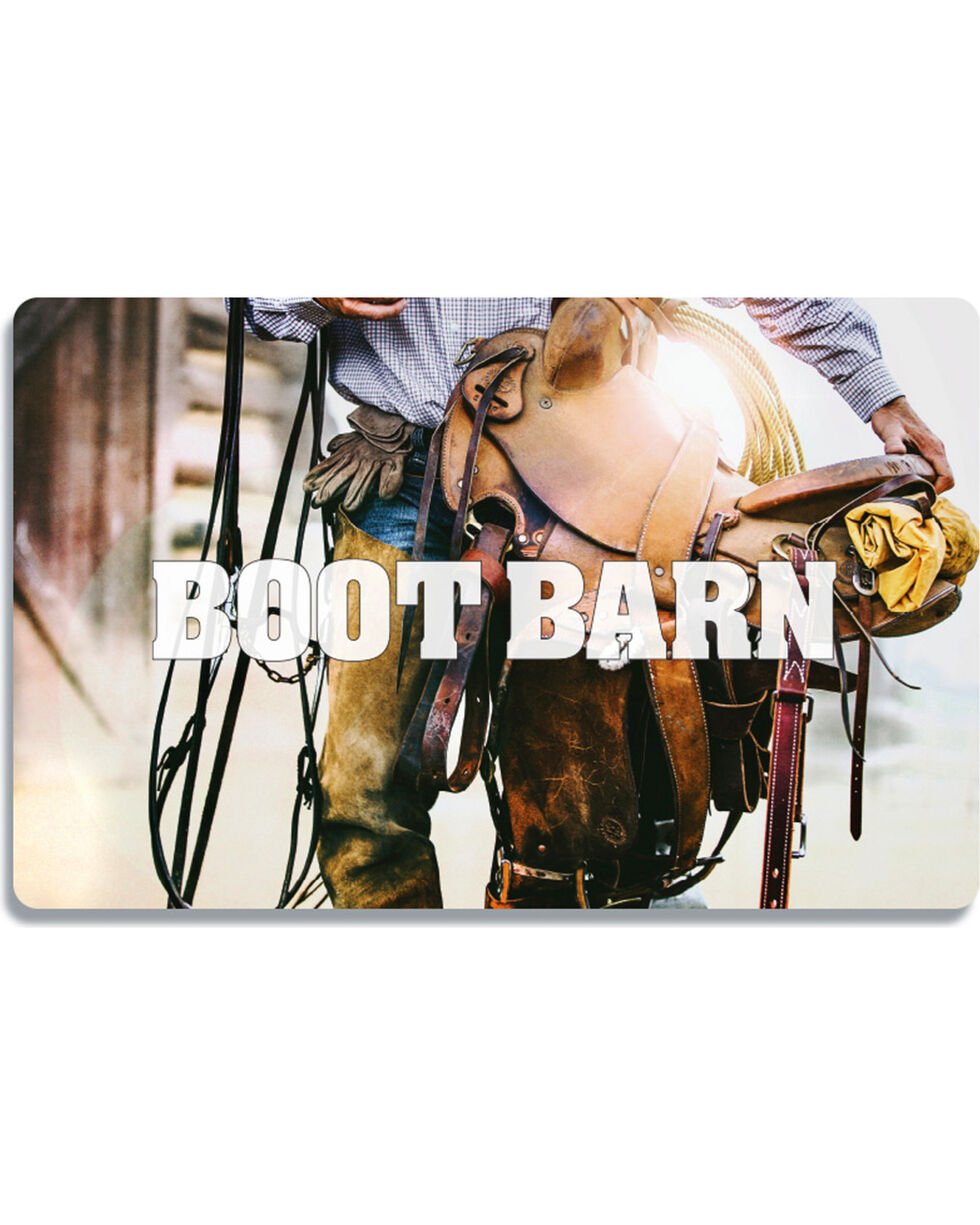 Boot Barn Cowboy Saddle Gift Card, No Color, hi-res