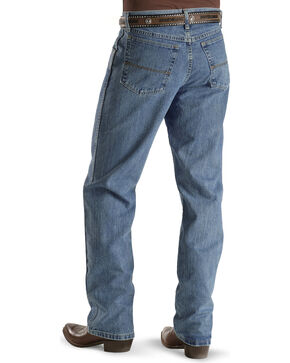 Wrangler Men's No.23 Relaxed Fit Jeans, Antique Blue, hi-res