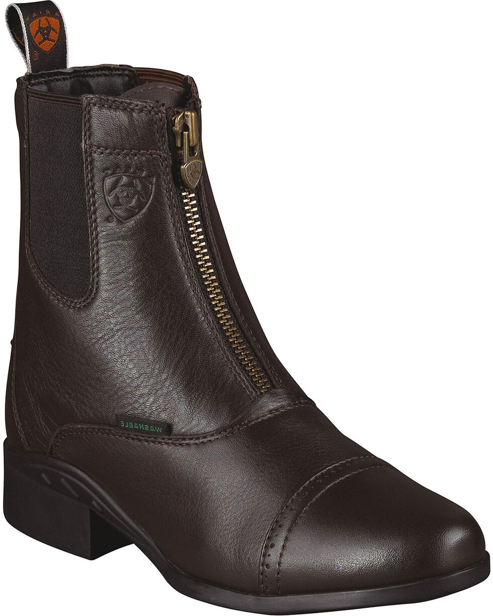 Ariat Women's Heritage Breeze Paddock Boots, Brown, hi-res