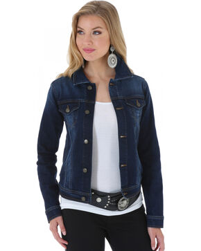 Wrangler Women's Denim Jacket, Denim, hi-res