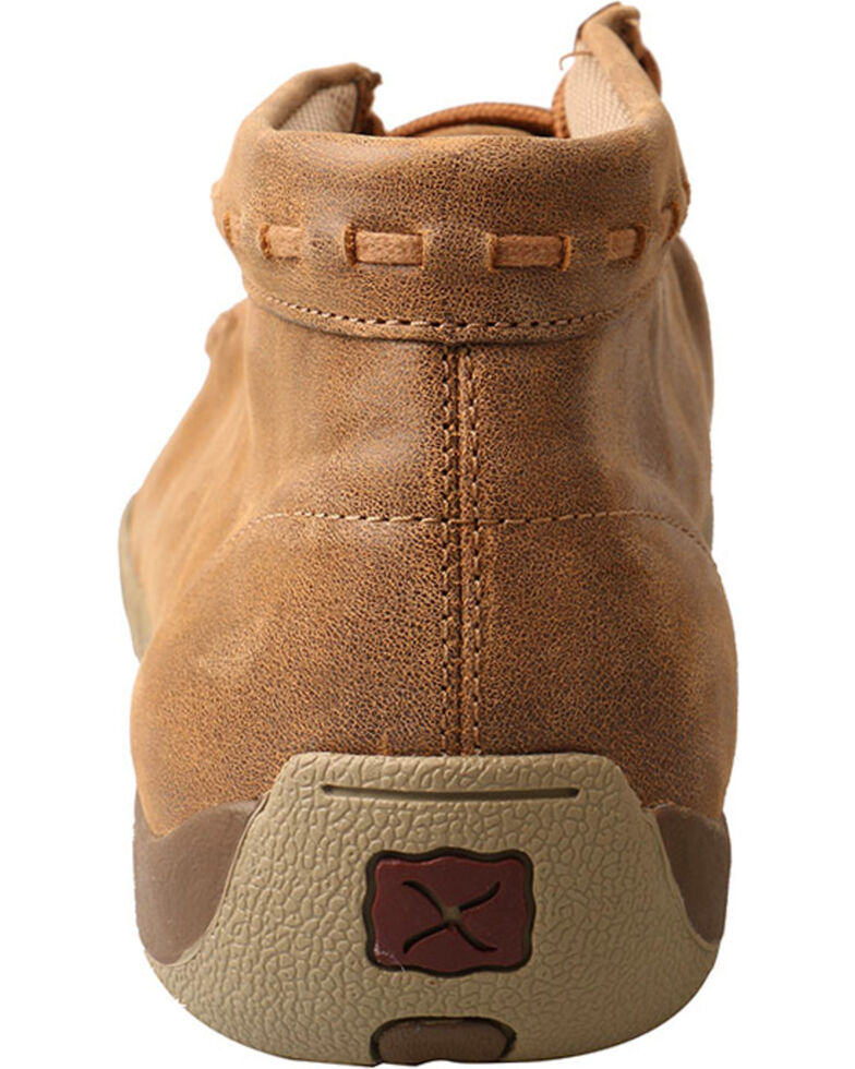 Twisted X Men's Driving Moc Lace-Up Casual Shoes, Taupe, hi-res