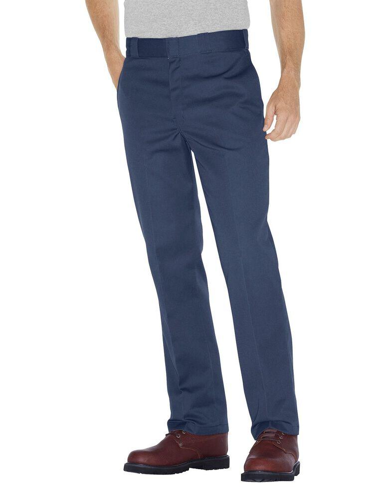 Dickies Men's Original 874 Work Pants, Blue, hi-res