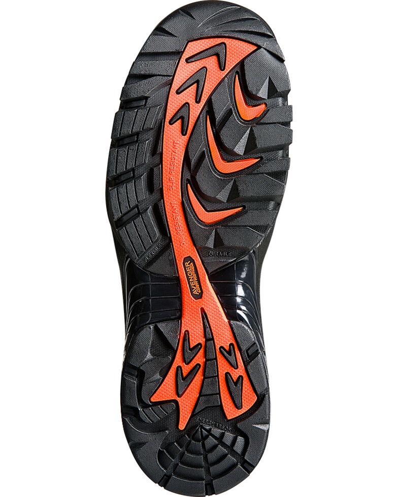 Avenger Men's Composite Toe Lace Up Work Boots, Black, hi-res