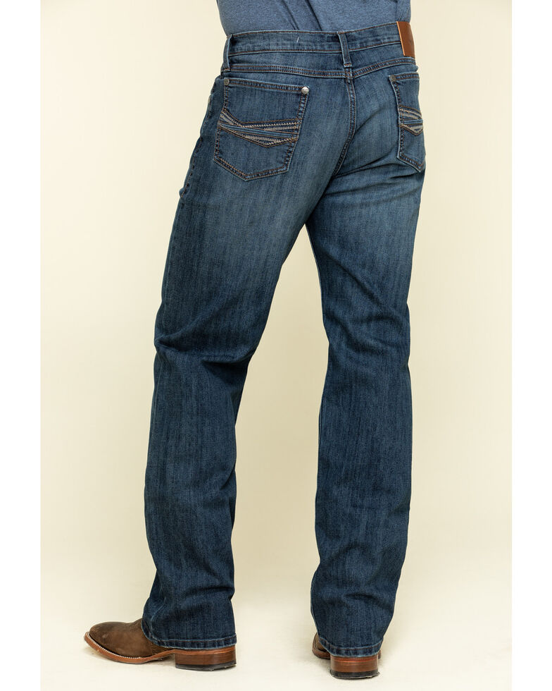 Wrangler 20X Men's No.33 Surf Spray Extreme Relaxed Straight Jeans , Blue, hi-res