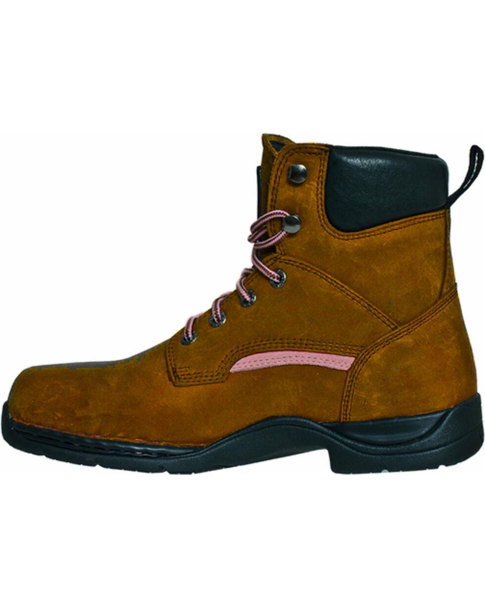 John Deere® Women's Steel Toe Lace-Up Boots, , hi-res