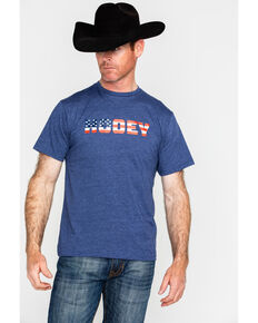 HOOey Men's Patriot Logo Graphic T-Shirt , Navy, hi-res