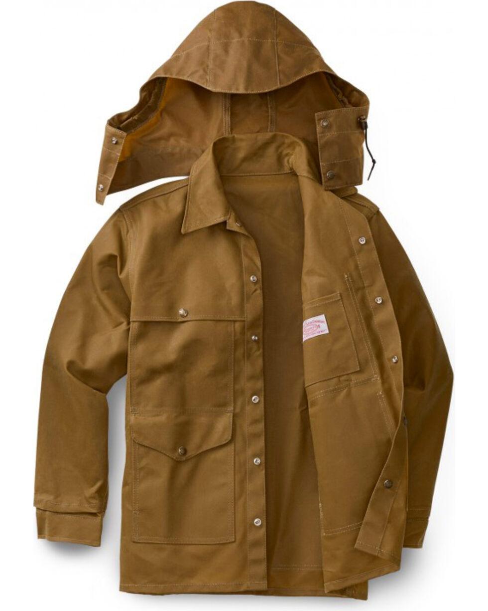 Filson Men's Tin Cloth Cruiser Jacket - Extra Long, Tan, hi-res