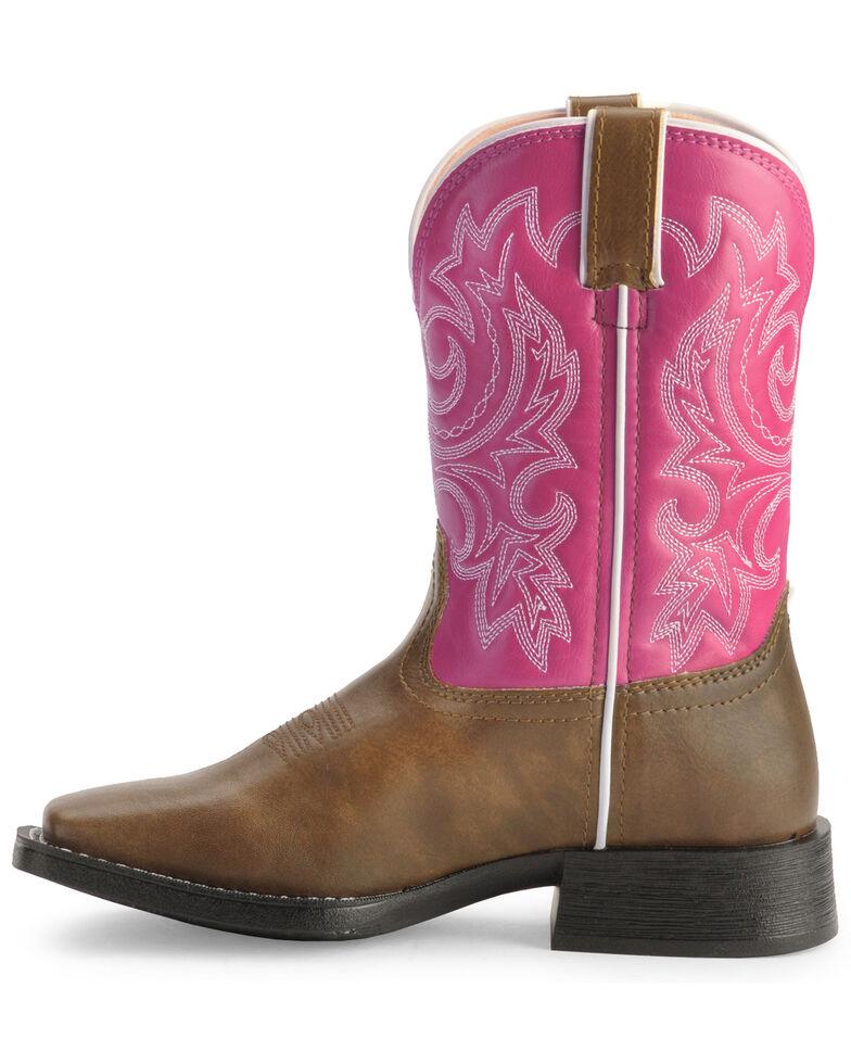 Durango's Kid's Lil Partners Cowgirl Boots, Tan, hi-res