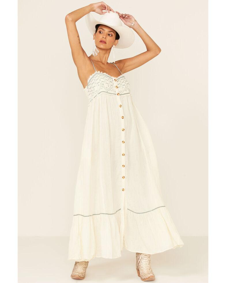 Free People Women's Linda Jo Dress, Ivory, hi-res