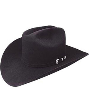 Resistol Men's Midnight 4X Felt Cowboy Hat , Black, hi-res