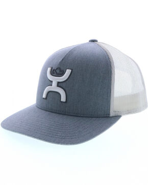 HOOey Men's Grey Cruise Cap, Grey, hi-res