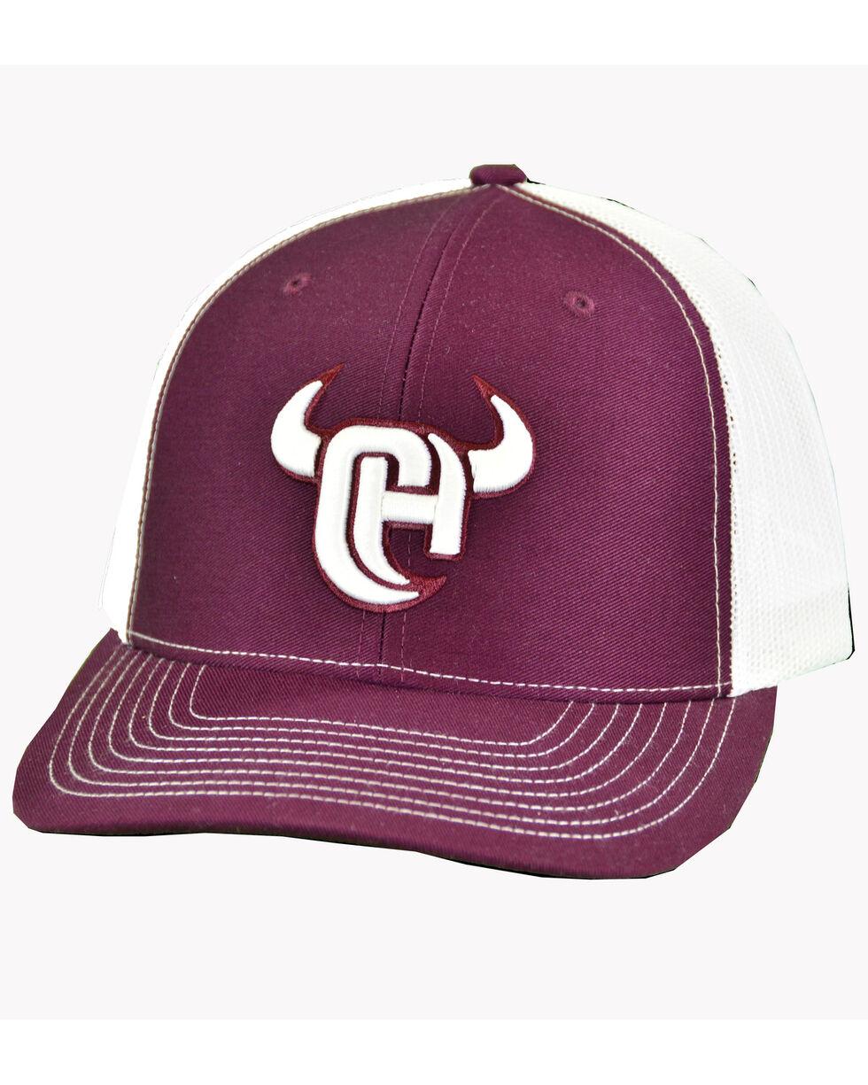 Cowboy Hardware Men's 3D Logo Trucker Cap, Red, hi-res