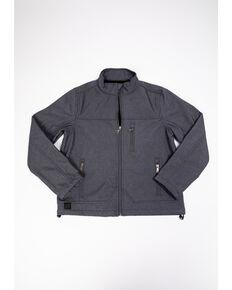 Cody James Boys' Steamboat Soft Shell Bonded Zip-Up Jacket , Grey, hi-res