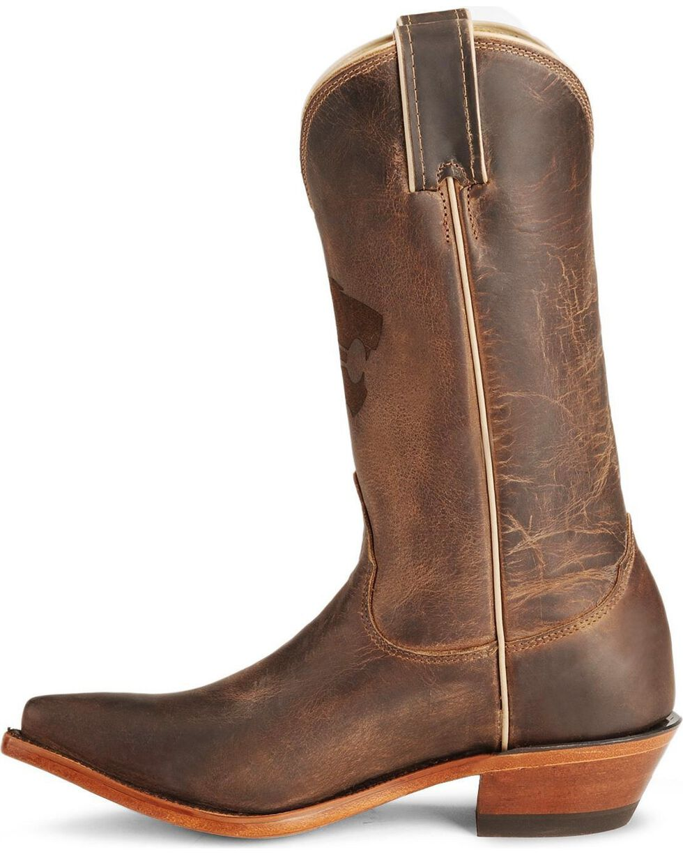 Nocona Women's Kansas State University College Boots, Tan, hi-res