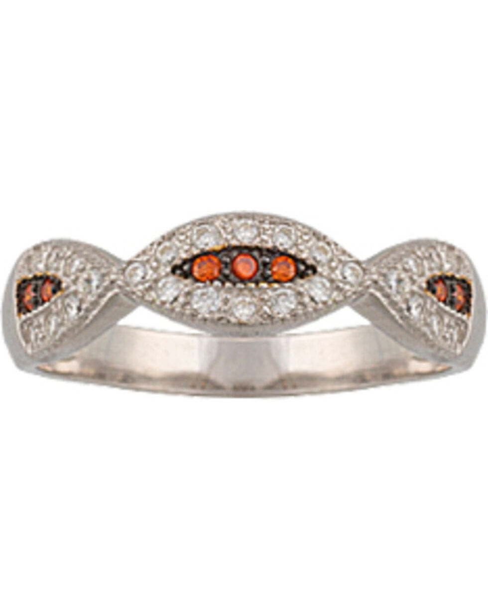 Montana Silversmiths River Lights Treasure in the Sand Ring, Silver, hi-res