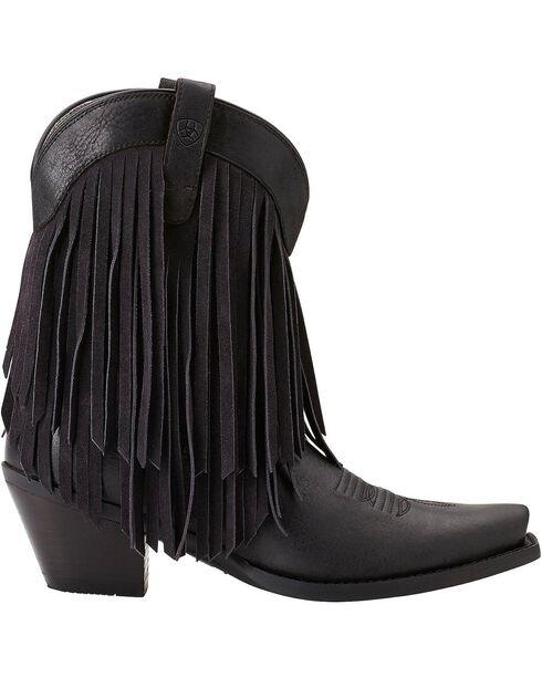 Ariat Women's Gold Rush Western Boots, Black, hi-res