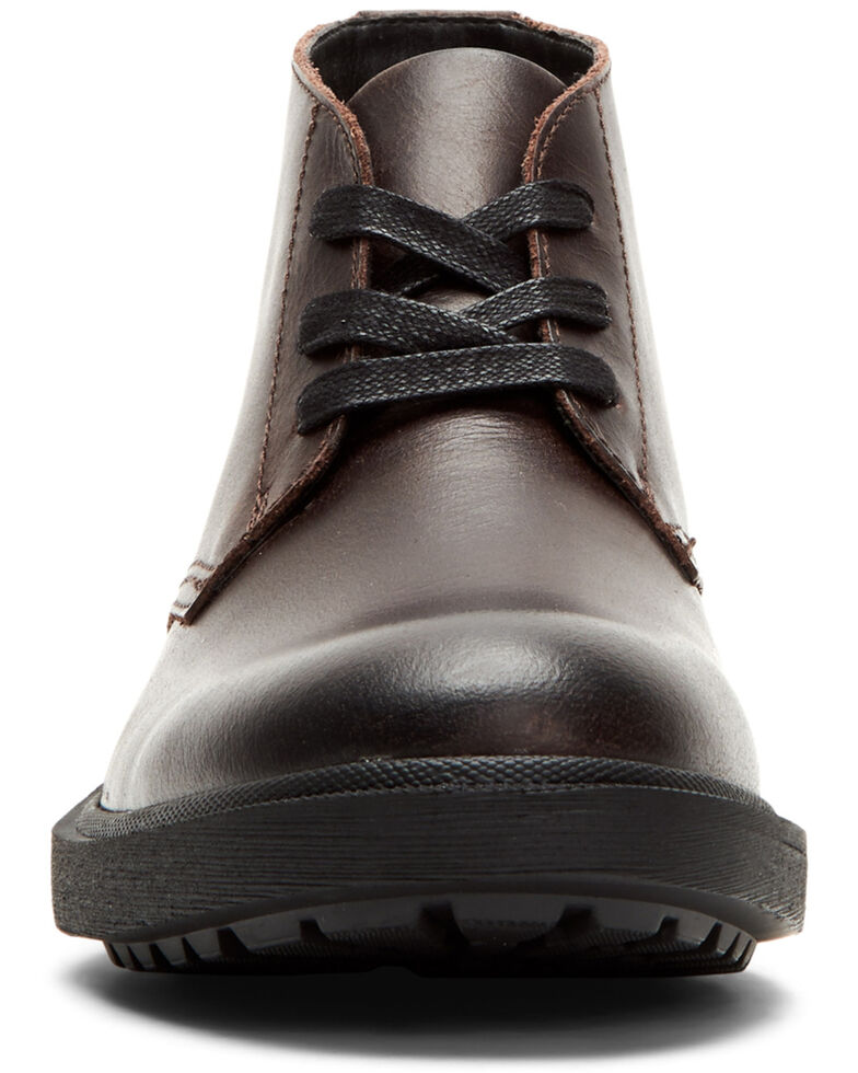 Frye Men's Jackson Chukka Work Boots - Soft Toe, Dark Brown, hi-res