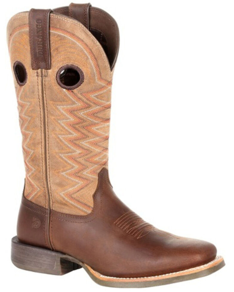 Durango Women's Lady Rebel Pro Tan Western Boots - Square Toe, Tan, hi-res