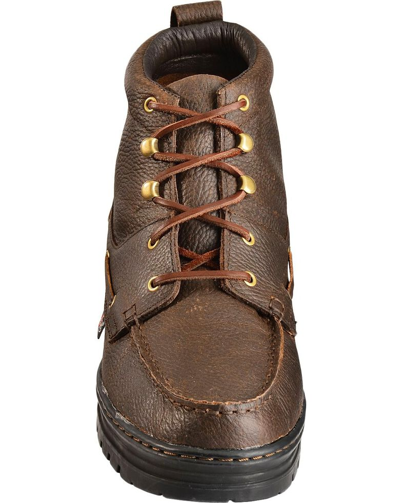 Justin Men's Casual Chukka Shoes, Rust, hi-res