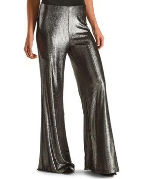 Jack Women's Leonardo Metallic Crinkle Pant, Silver, hi-res