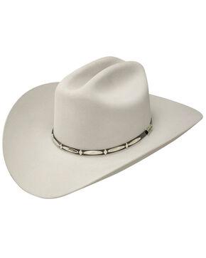 Stetson Del Norte 6x Felt Cowboy Hat, Light Grey, hi-res