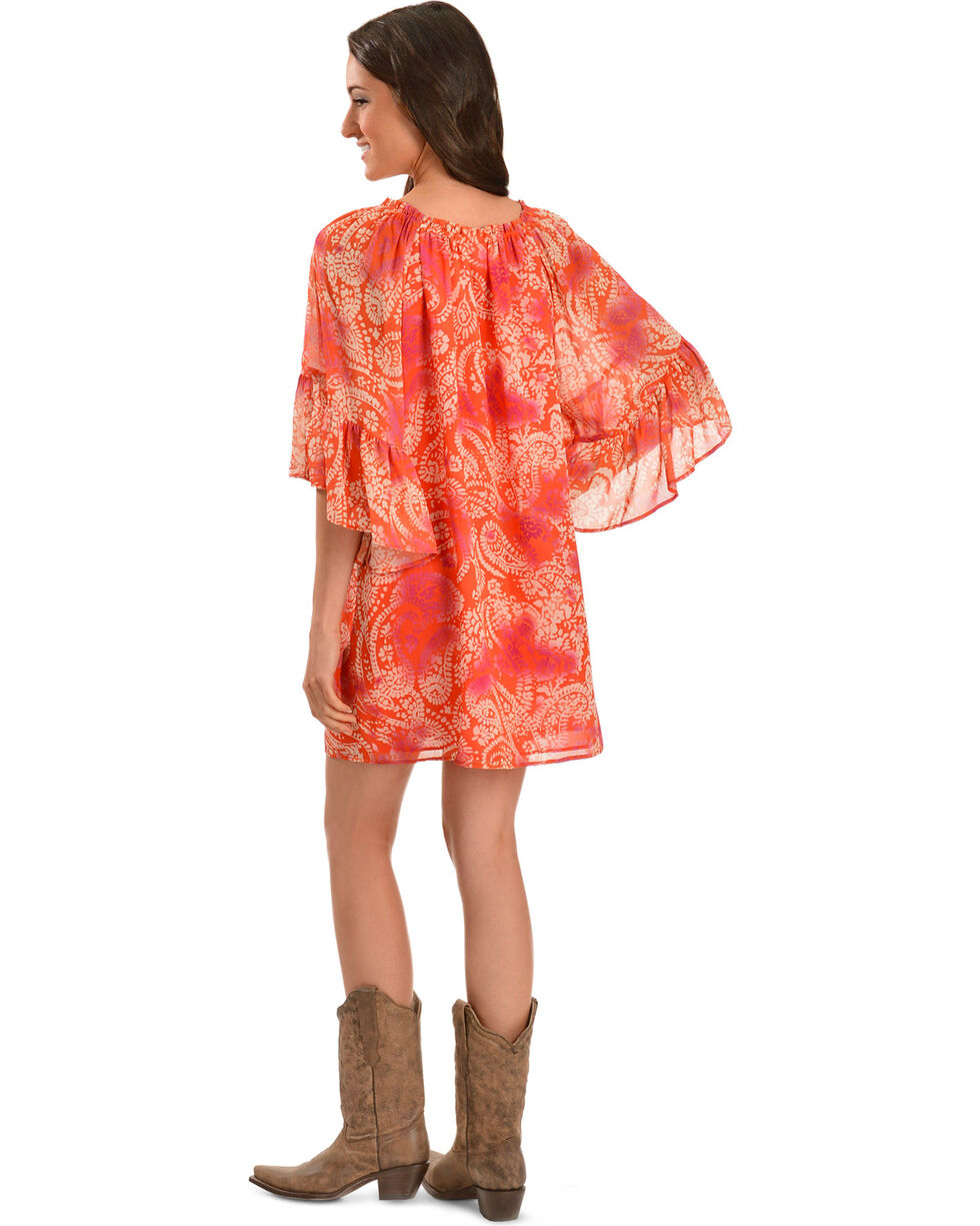 Cowgirl Justice Women's Blythe Paisley Dress, , hi-res