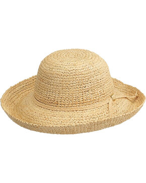 Peter Grimm Chamomile Natural Raffia Straw Sun Hat, Natural, hi-res
