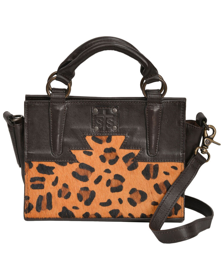 STS Ranchwear By Carroll Women's Leopard Mini Satchel, Multi, hi-res