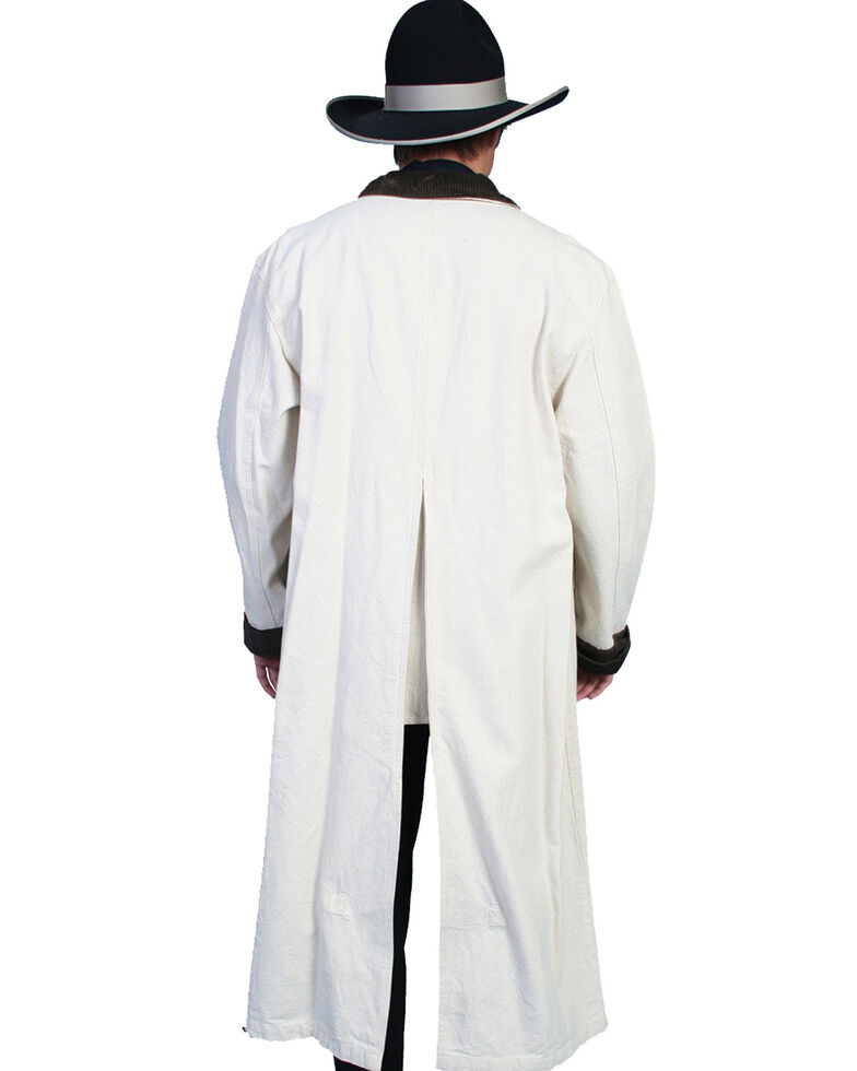 Scully Men's Authentic Canvas Duster, Natural, hi-res