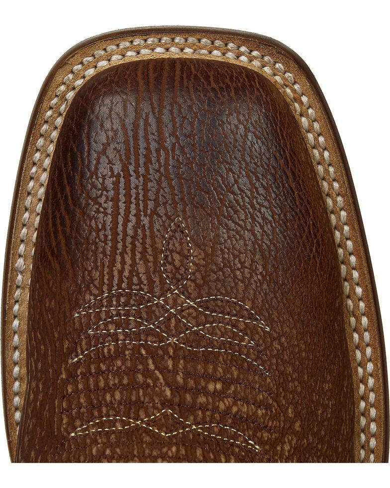 Lucchese Handmade Cognac Ryan Shark Cowboy Boots - Square Toe , Cognac, hi-res