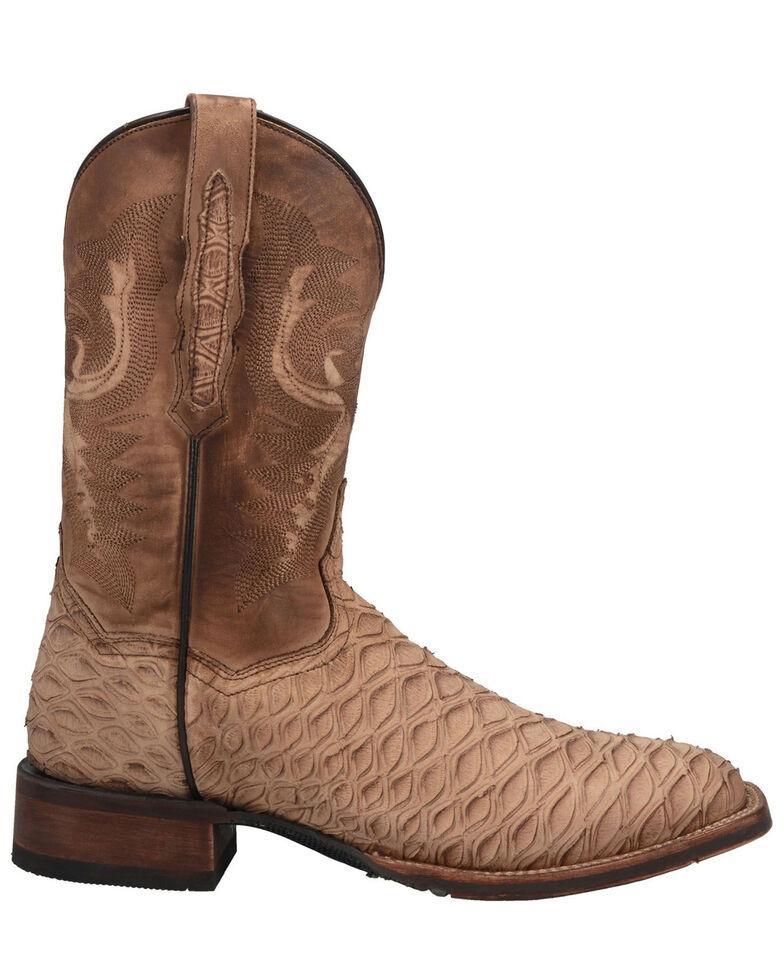Dan Post Men's Ardy Western Boots - Square Toe, Sand, hi-res
