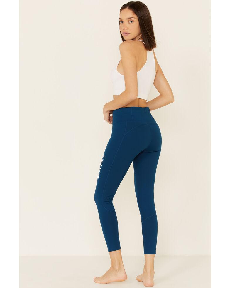 Ariat Women's Blue Opal Tek Tight Leggings, Blue, hi-res