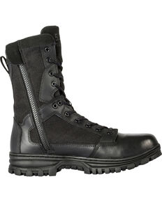 "5.11 Tactical EVO 8"" Side-Zip Boots, Black, hi-res"