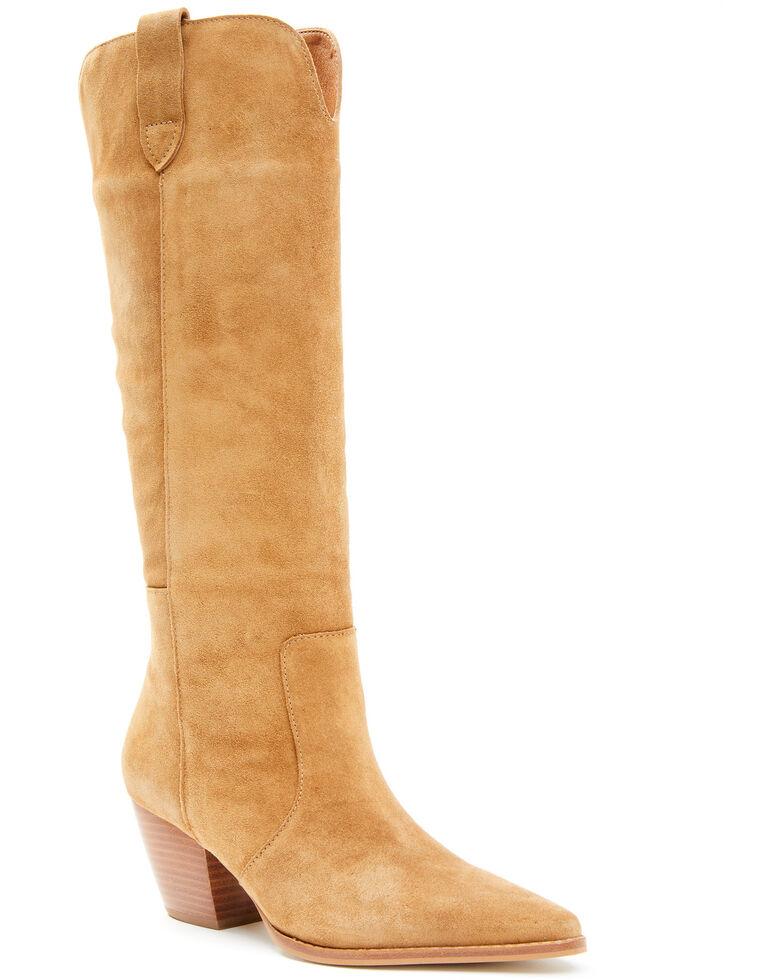 Matisse Women's Stella Western Boots - Snip Toe, Tan, hi-res