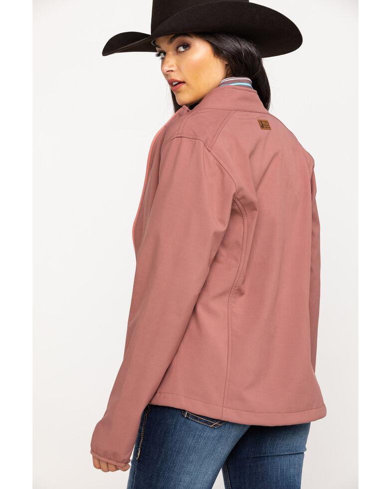 Justin Women's Pink Softshell Jacket, Pink, hi-res