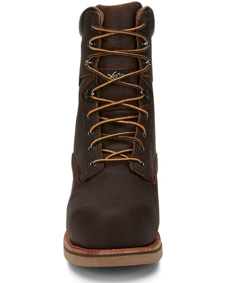 Chippewa Men's Serious Plus Waterproof Work Boots - Composite Toe, Brown, hi-res