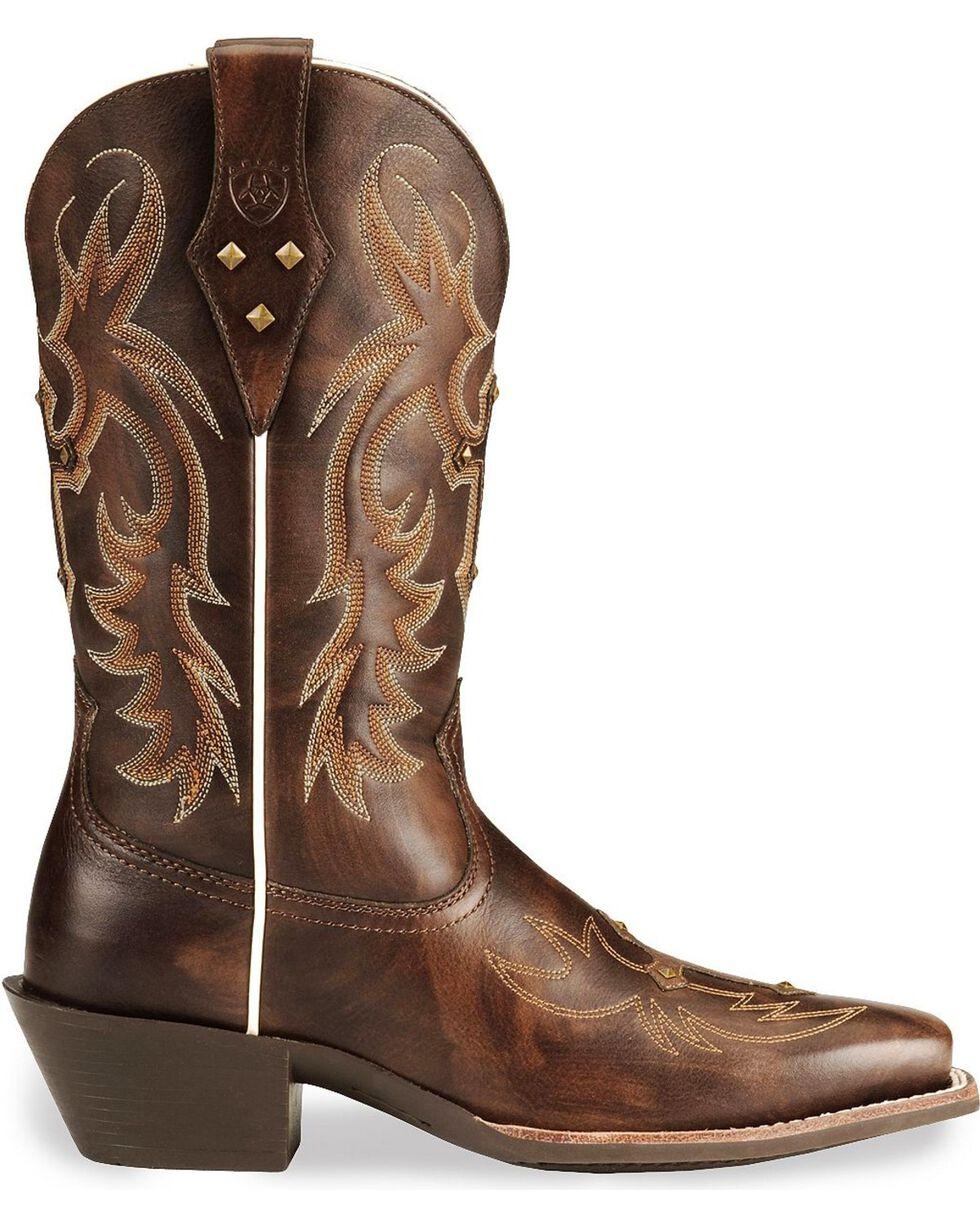 Ariat Women's Legend Spirit Western Boots, Brown, hi-res