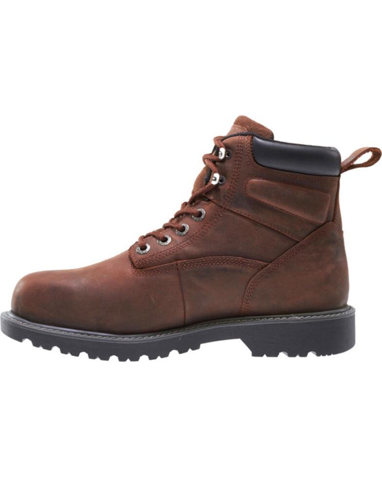 "Wolverine Men's Floorhand Waterproof 6"" Work Boots, Dark Brown, hi-res"