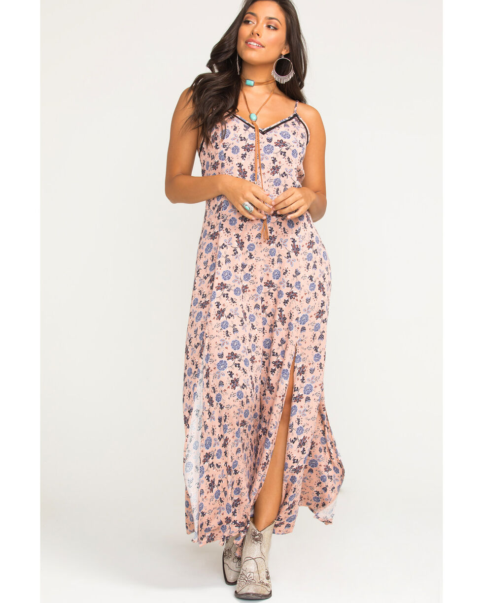 Idyllwind Women's Easy Rider Maxi Dress, Peach, hi-res