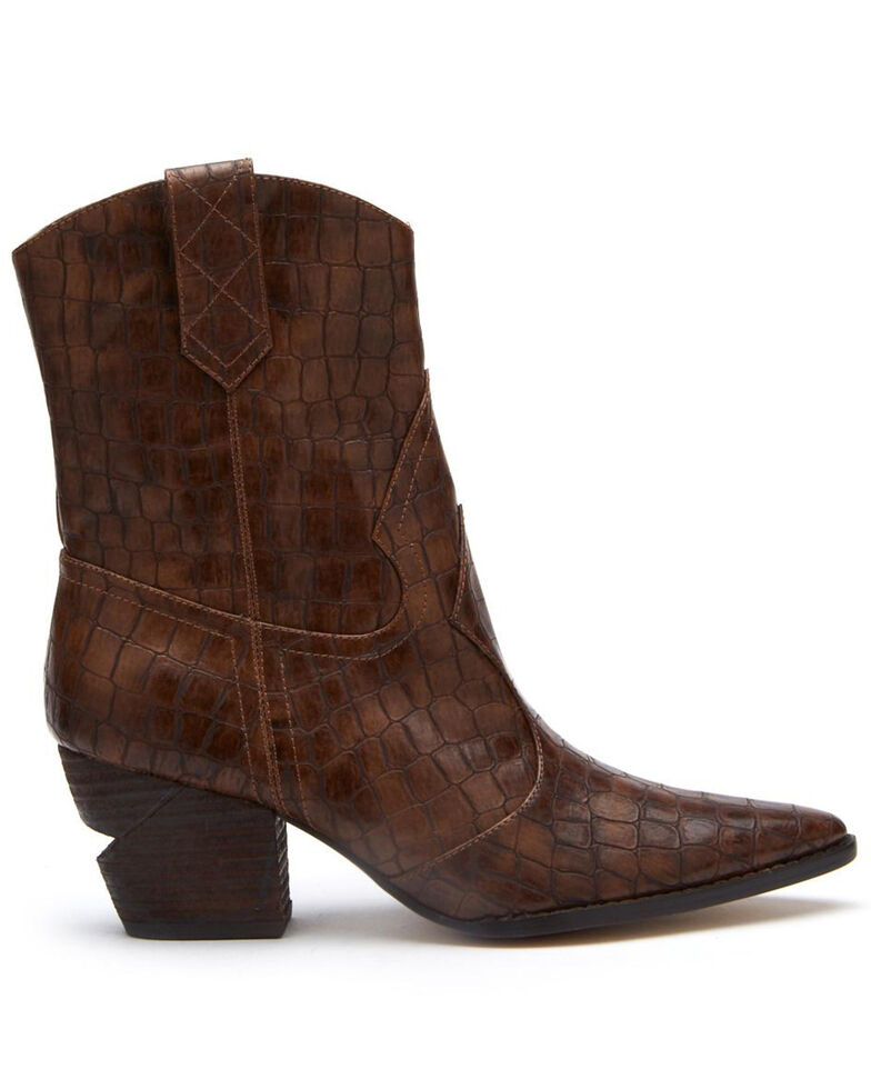 Coconuts by Matisse Women's After Dark Brown Fashion Booties - Meduim Toe, Brown, hi-res