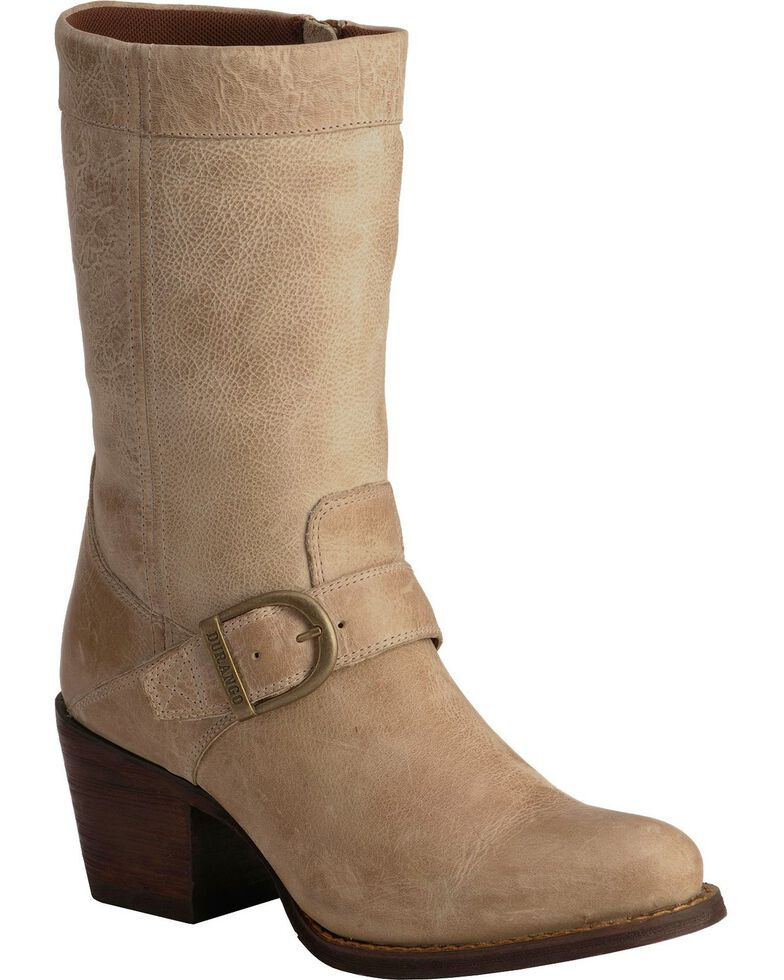 Durango Philly Harness Boots - Round Toe, Taupe, hi-res